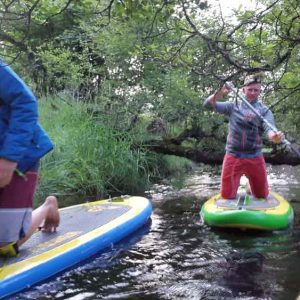 a river adventure is only at the top of the loch watch out for all the bugs