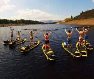 First ever DofE paddle board expedition in Scotland 2016